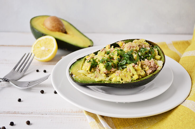 Avocado-Tuna-Salad