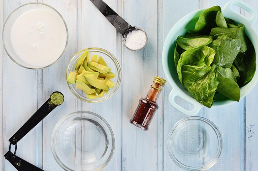 Keto-Green-Smoothie_Ingredients
