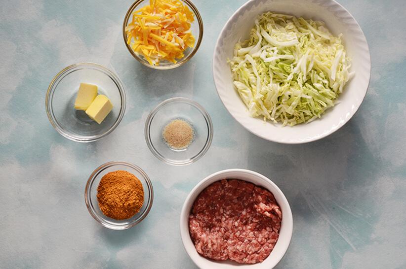 Beef-Cabbage-Skillet_Ingredients