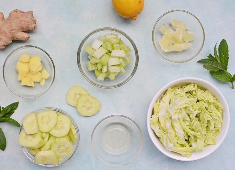 Green Detox Juice ingredients