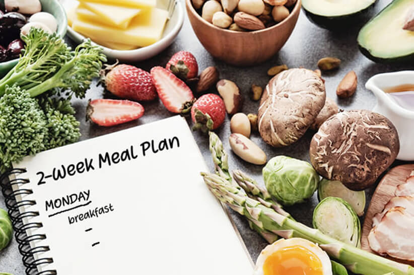 14 Day Keto Meal Plan With Food List Recipes Kiss My Keto Blog