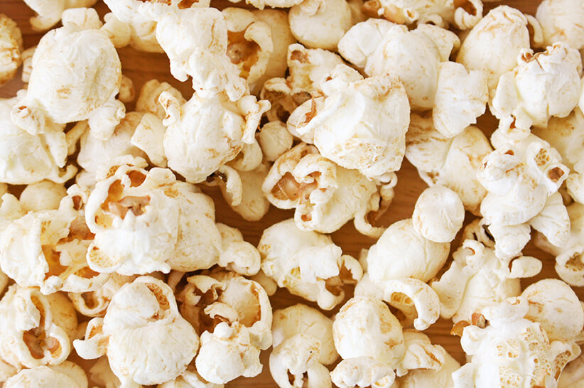 buttered popcorn on a keto diet