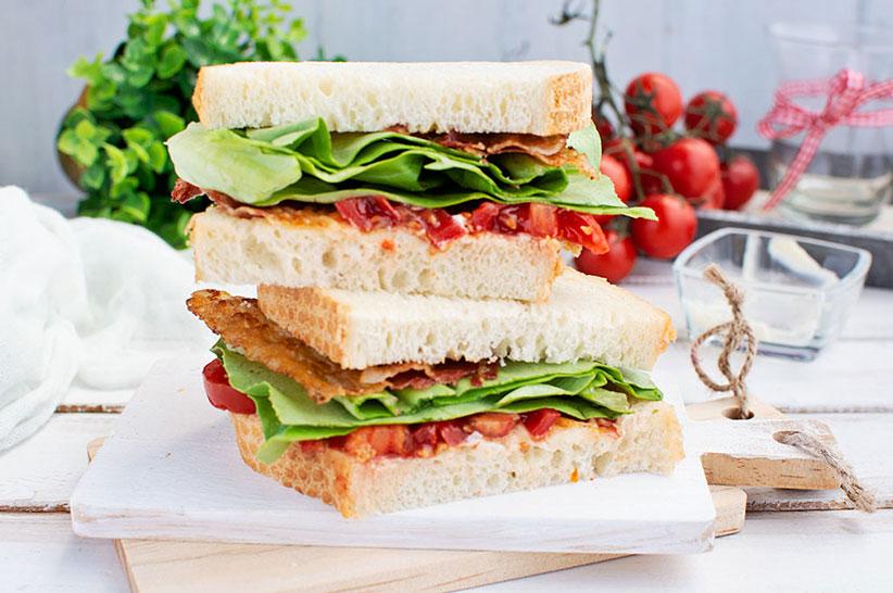 Keto BLT Sandwich