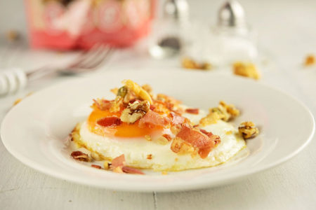 Bacon & Eggs with Granola