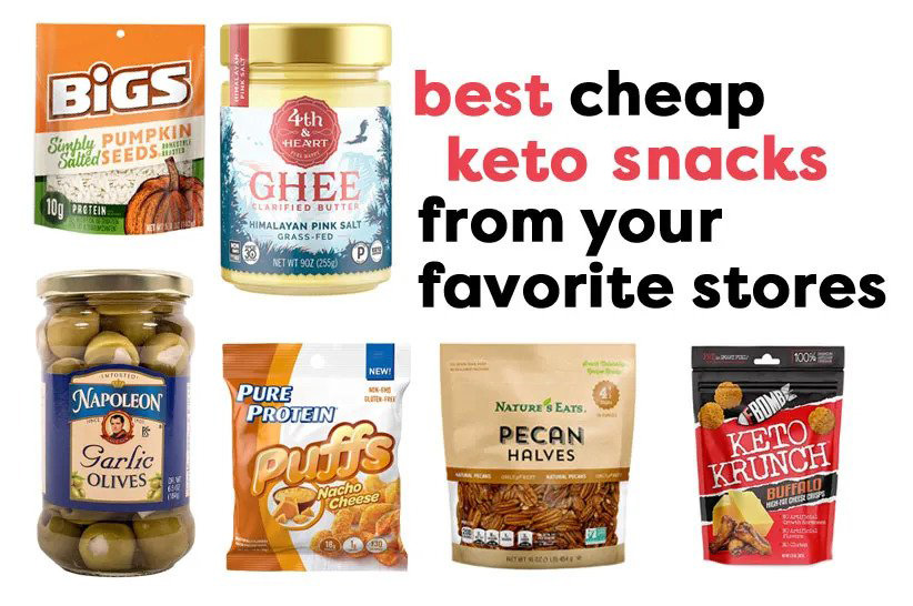 cheap keto snacks featured image