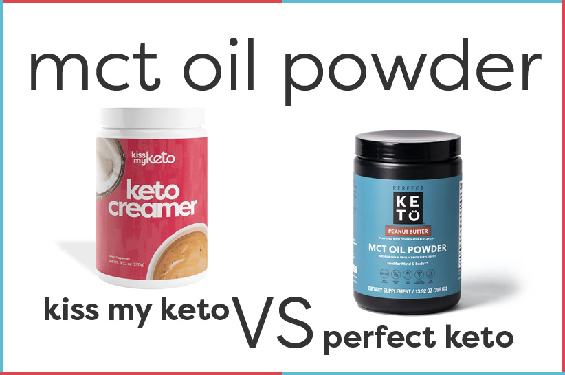 Perfect Keto MCT Oil Powder vs Kiss My Keto_Featured Image
