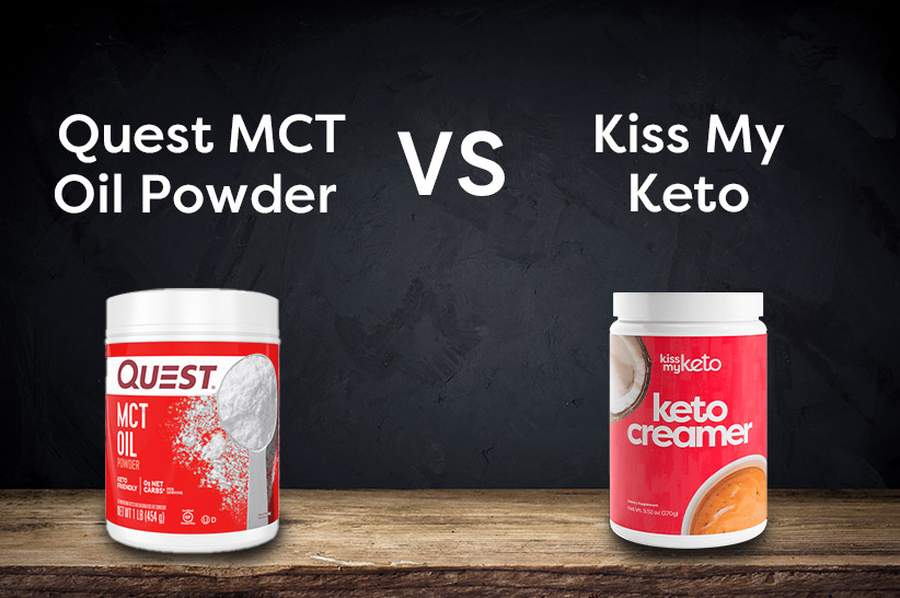 Quest MCT Poweder vs Kiss My Keto